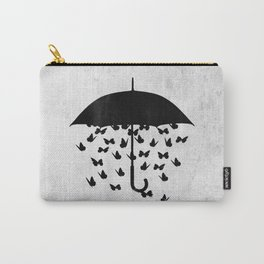 uncertainty (black and white) Carry-All Pouch