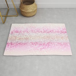 Unicorn Girls Glitter #2 #shiny #pastel #decor #art #society6 Rug
