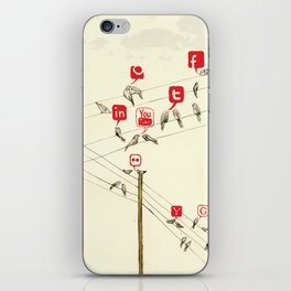 Bird Society iPhone Skin