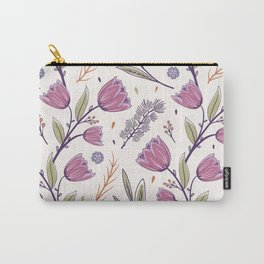Flower Pattern 1 Carry-All Pouch