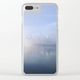 Beyond the Trees Clear iPhone Case