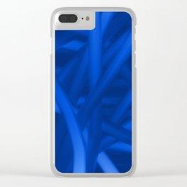 quantum fun Clear iPhone Case