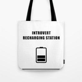 Introvert Recharging Tote Bag