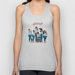 Intersectional Rosie the Riveter Unisex Tank Top
