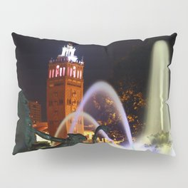 JC Nichols Memorial Fountain Pillow Sham