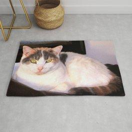Sweet Daisy Cat Rug