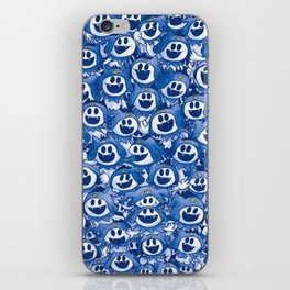A Whole Lotta Jack Frost! iPhone Skin