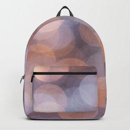 Snowy Bokeh Backpack