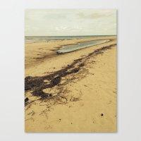 calcifer Canvas Prints featuring Sandbar by Calcifer