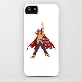 Kick reason to the curb! iPhone Case