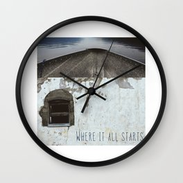 In Love With The Idea (Where It All Starts) Wall Clock