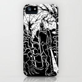 Krampus Vs. Saint Nicholas iPhone Case