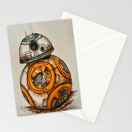 BB-8 Gets Dirty Stationery Cards