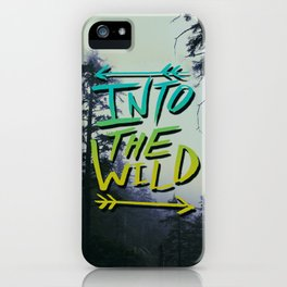 Into the Wild IV iPhone Case