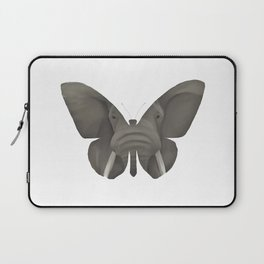 Elephant Butterfly Laptop Sleeve