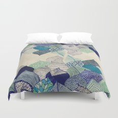 Leaf it to me Duvet Cover