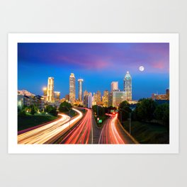 Atlanta 02 - USA Art Print