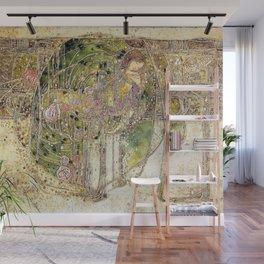 Margaret Macdonald Mackintosh Sleeping Princess Wall Mural