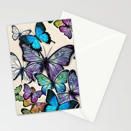 Blutterflies Stationery Cards