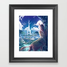 Lilandra Framed Art Print
