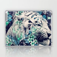 Floral Tiger Laptop & iPad Skin