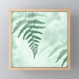 fern Framed Mini Art Print