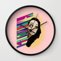 punisher Wall Clocks featuring The Punisher by Sten-Erik Villup