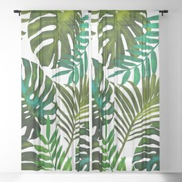 Tropical Dream || Sheer Curtain
