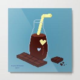 Chocolate Milk Metal Print