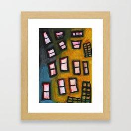 City highrise Framed Art Print
