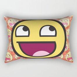 Awesome Face Rectangular Pillow