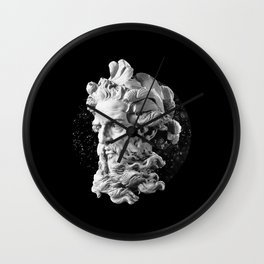 Sculpture Head II Wall Clock