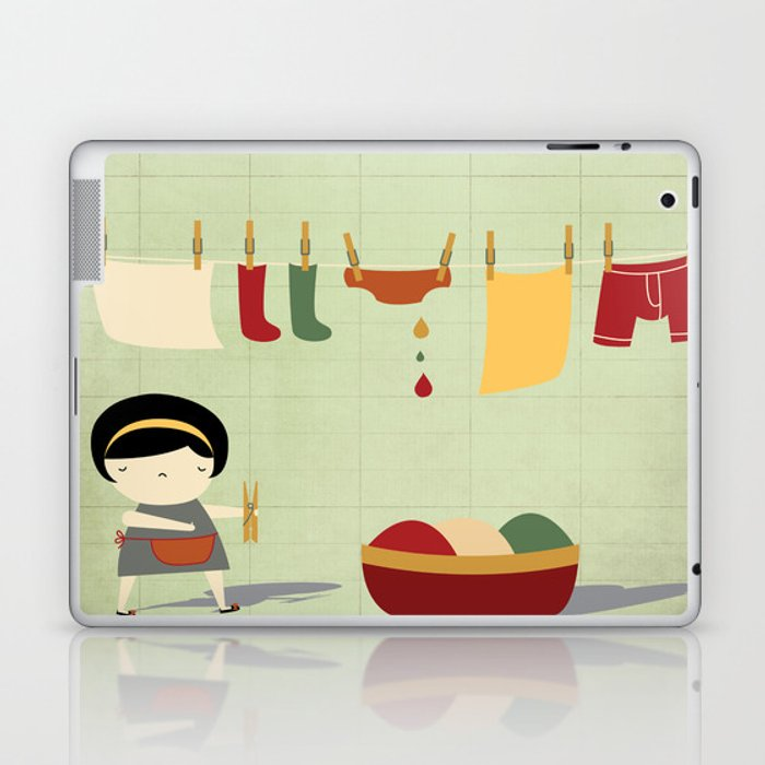 Busy Laptop & iPad Skin
