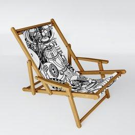Dark Matter Space Machine Sling Chair