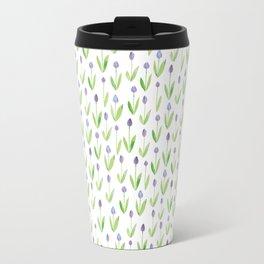 tulip garden Metal Travel Mug