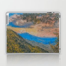 Distant Mountains Impressionistic Laptop & iPad Skin