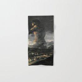 Francisco de Goya - The Colossus Hand & Bath Towel