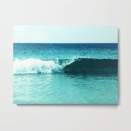 Summer Wave Metal Print