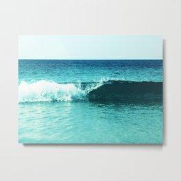 Summer Wave Metal Print
