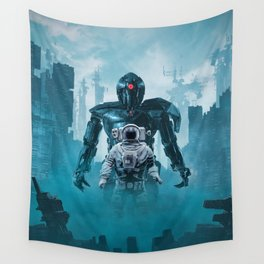 Shadow of the Cyclops Wall Tapestry