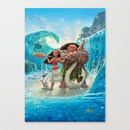 Moana 2 Canvas Print
