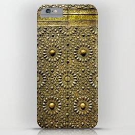 Gold Kaaba Door iPhone Case