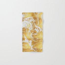 White Dragon Marble Hand & Bath Towel