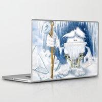 yeti Laptop & iPad Skins featuring Yeti by Juan Pablo Cornejo