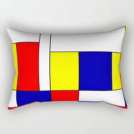 Mondrian #37 Rectangular Pillow