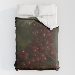 Still life with red currants Comforters