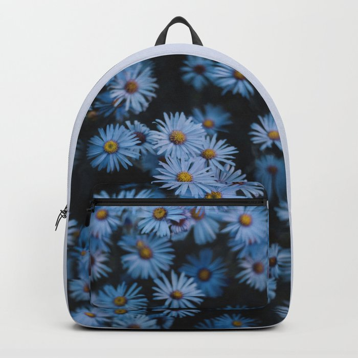 Blue Asters Backpack