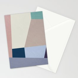 Abstract Geometric Minimal Abstract Design Stationery Cards