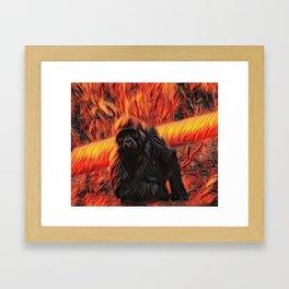 My beautiful Koko Framed Art Print