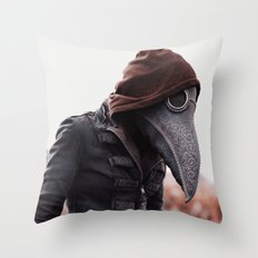 Alternate Plague Throw Pillow